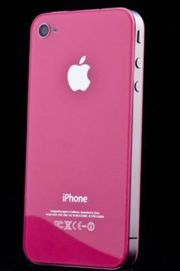 Růžové sklo a nový design pro iPhone