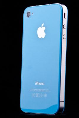 Světle-modré sklo a nový design pro iPhone