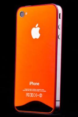 Zrcadlové oranžové sklo a nový design pro iPhone