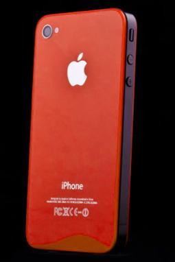 Oranžové sklo a nový design pro iPhone