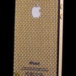 Laminátový panel - zlatý a nový design pro iPhone