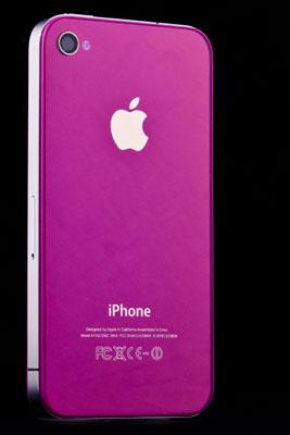 Fialové sklo a nový design pro iPhone