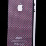Laminátový panel - černo červený a nový design pro iPhone
