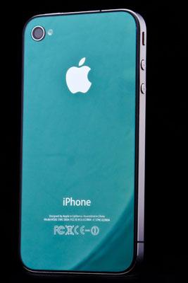 Zelené sklo a nový design pro iPhone