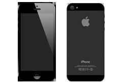 KOMPLET přední + zadní sklo  iPhone 5