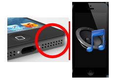 Oprava reproduktoru iPhone 5