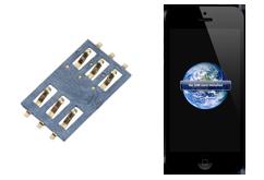 Oprava čtečky SIM  iPhone 5