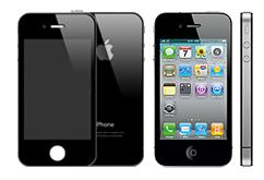 KOMPLET AKCE přední + zadní sklo  iPhone 4s