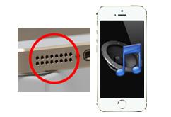 Oprava reproduktoru iPhone 5S