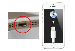 Oprava konektoru a napájení iPhone 5S