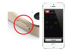 Oprava tlačítka on/off iPhone 5S