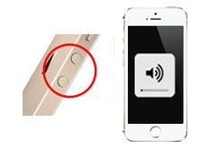 Oprava tlačítek hlasitosti iPhone 5S