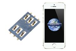 Oprava čtečky SIM  iPhone 5S