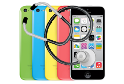 Diagnostika iPhone 5c