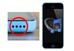 Oprava reproduktoru iPhone 5c
