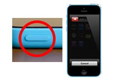 Oprava tlačítka on/off iPhone 5c