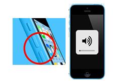 Oprava tlačítek hlasitosti iPhone 5c