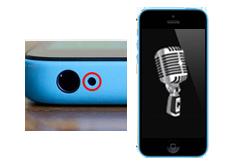 Oprava mikrofonu iPhone 5c