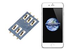 Oprava čtečky SIM iPhone 6