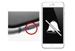 Oprava tlačítka vibrace/zvuk iPhone 6s+