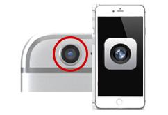 Oprava zadní kamery iPhone 6s+