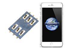 Oprava čtečky SIM iPhone 6s+