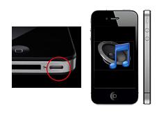 Oprava reproduktoru iPhone 4s