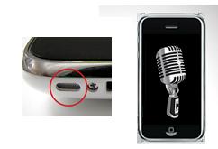 Oprava mikrofonu iPhone 3GS