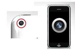 Oprava zadní kamery iPhone 3GS
