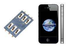 Oprava SIM čtěčky iPhone 4s